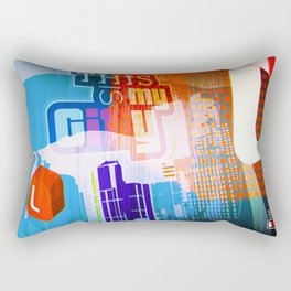 This is my city LS Rectangular Pillow