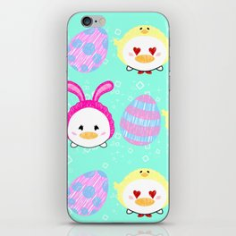 Easter Ducks iPhone Skin