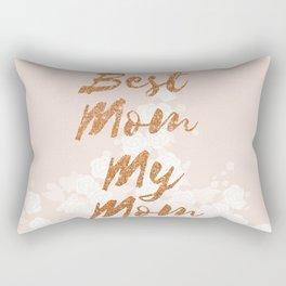 Best Mom My Mom on Thursday Rectangular Pillow