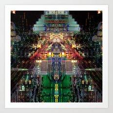 Citymmetry #4 Art Print