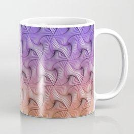 Triangle staircases gradient Coffee Mug