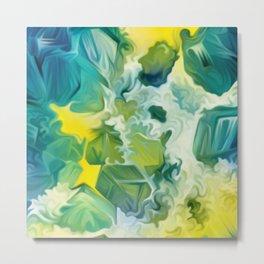 Mineral Series - Andradite Metal Print