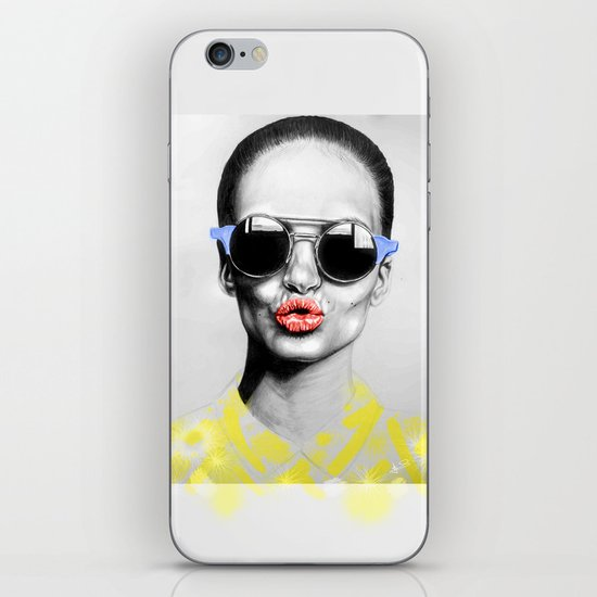 + SMOKE AND MIRRORS PRIMARY + iPhone & iPod Skin