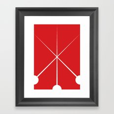 The Three Musketeers Framed Art Print