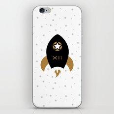 Spaceship #12 iPhone & iPod Skin