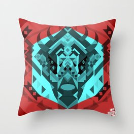 El Bisonte 01 Throw Pillow
