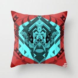 El Bisonte 01 Throw Pillow