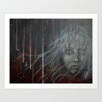 les miserables Art Prints featuring Cossette ~Les Miserables by prestone85