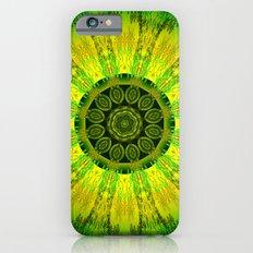 Lemon Lime Mandala  Slim Case iPhone 6s