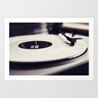 Koji Vinyl Art Print