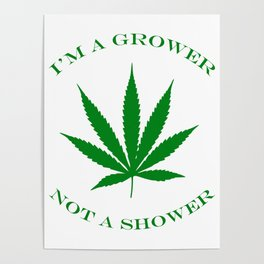 Marijuana Dispensary Legal Weed Poster