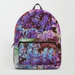 Succulent Garden View Backpack