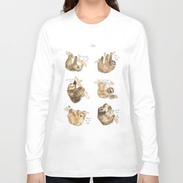 Sloths Long Sleeve T-shirt