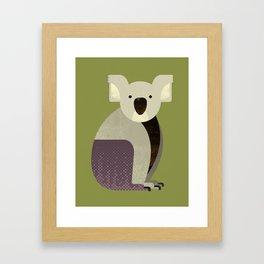 Whimsy Koala Framed Art Print