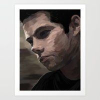 dylan Art Prints featuring dylan by Finduilas
