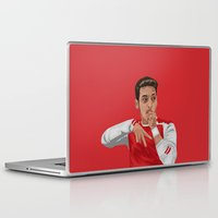 arsenal Laptop & iPad Skins featuring Mesut Ozil by siddick49