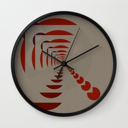 A Different World Wall Clock