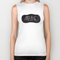 apollo Biker Tanks featuring Apollo 11 by ZacLeck
