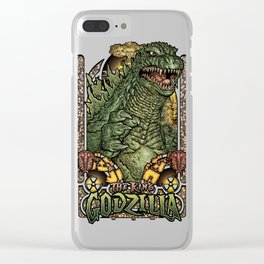 Fear the King! Clear iPhone Case