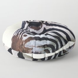 Zebra 1 Floor Pillow