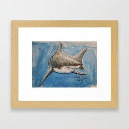 Fun Art Friday:Shark Framed Art Print