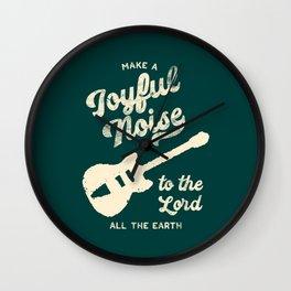 Make a Joyful Noise Wall Clock