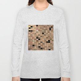 CROSSWORD LOVE Long Sleeve T-shirt