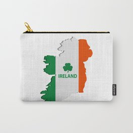 Ireland map Carry-All Pouch