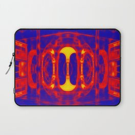 Fiery portal of our nightmares Laptop Sleeve