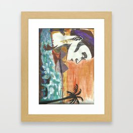 ruler Framed Art Print