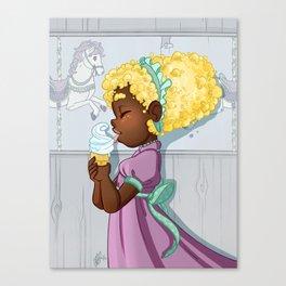 Popcorn Carousel Canvas Print