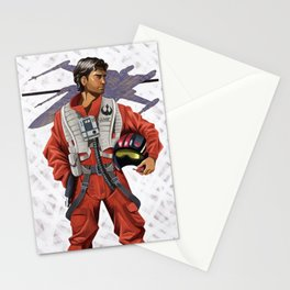 Leyendecker Poe Dameron Stationery Cards