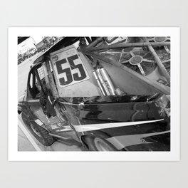 Track Noir TORC #9 Art Print