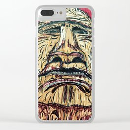 Cuyahoga Valley Indian Clear iPhone Case