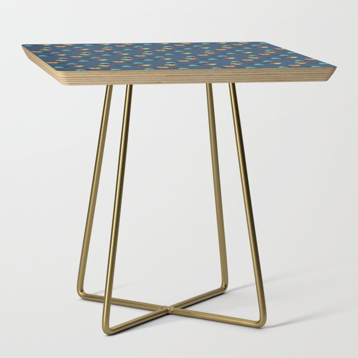 Kaleidescope blue Side Table