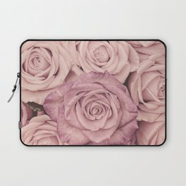 Some People Grumble - Pink Rose Pattern - Roses Laptop Sleeve