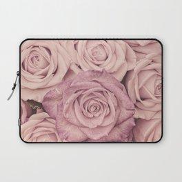 Some People Grumble - Pink Rose Pattern - Roses Laptop Sleeve