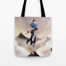 Strongest woman in the world! Tote Bag