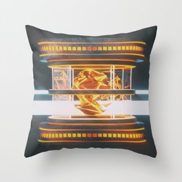 Shifty Throw Pillow