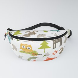 Woodland Animals Fanny Pack