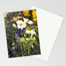 Papaver in the Garden  //  The Botanical Series Stationery Cards