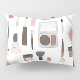 Let's Makeup Pillow Sham