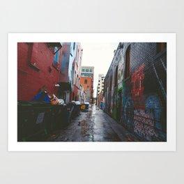 Freak Alley Art Print