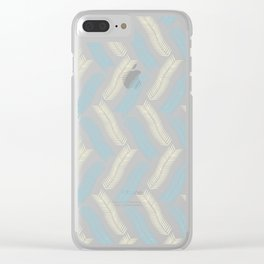 Pine Needles (Fresh) Clear iPhone Case