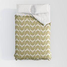 Crosshatched Flower Comforters