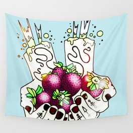 Berries Wall Tapestry