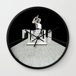 Freudian dream Wall Clock