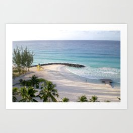 Another day in paradise Art Print