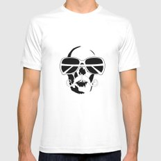 Dead Cool White Mens Fitted Tee SMALL