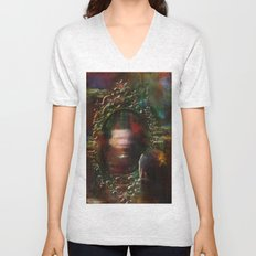 The haunted mirror Unisex V-Neck